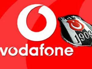 Beşiktaş Vodafone işle sponsorlukta anlaştı