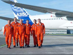 A350 XWB ilk uçuşunu gerçekleştirdi