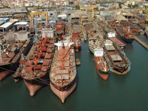 Çin'in gemi yapımı yüzde 36 azaldı