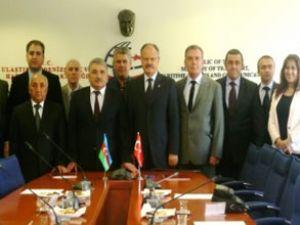 Türk ve Azeri heyetten KUKK toplantısı