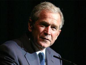 George Bush'un uçağında duman paniği