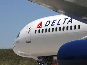 Delta Havayolları uçağında yangın paniği