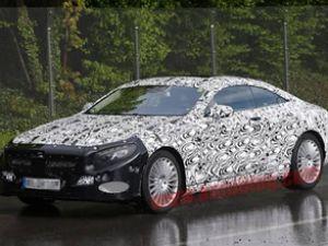 Mercedes S Coupe testte yakalandı