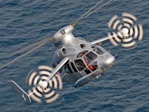 Hibrit helikopter, hız rekoruna imza attı