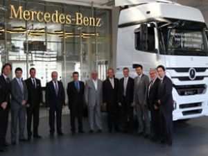 Mercedes Benz'den 150 araçlık teslimat