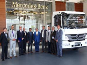 Mercedes'ten Pripa'ya 70 araçlık teslimat