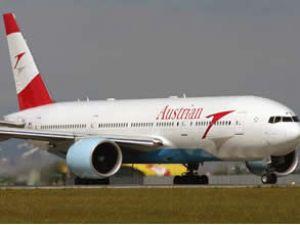 Avusturya Havayolu uçağı kalkış yapamadı