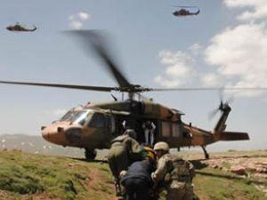 Hamile kadın için 3 helikopter kalktı