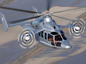 Dünyanın en hızlı helikopteri Eurocopter X3
