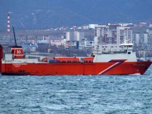 Moldova bayraklı Ro-Ro gemisi İnebolu'da
