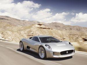 Jaguar'ın yeni C-X75'i 75. yıla özel geliyor