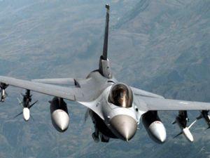 Suriye'den Türk F-16 uçaklarına taciz
