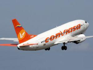 AB, Conviasa'nın uçuş yasağını kaldırdı