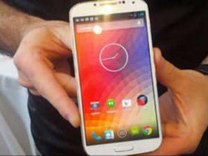 Android 4.3, Galaxy S4 üzerinde göründü
