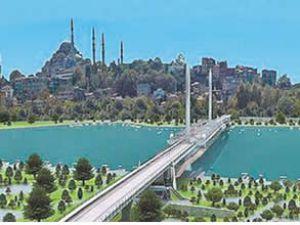 Haliç metro köprüsü 29 Ekim'e hazırlanıyor