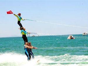 Van Denizi'nde Su Sporları Festivali