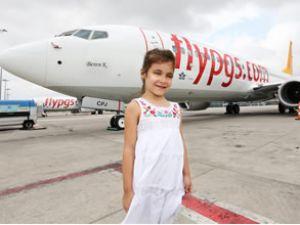 Pegasus'un yeni uçağının adı 'Beren K.'