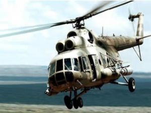 Rusya'da 25 kişiyi taşıyan helikopter  düştü