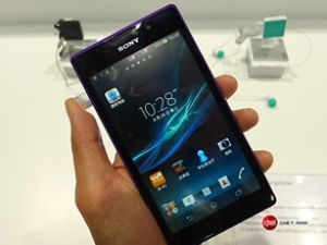 Sony akıllı telefonu Xperia C'yi duyurdu