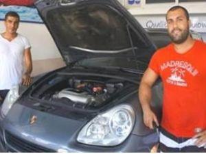 Marmarisli turizmci Porsche'ye LPG taktırdı