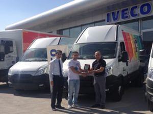 Iveco'dan Filli Boya'ya 4 araç