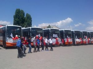 Ağrı Belediyesi'ne 13 adet Novociti