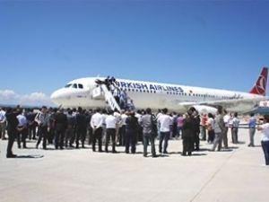 Kastamonu Havaalanı'na uçuşlar başladı