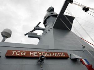 TCG Heybeliada Korveti Tunus'a demirledi