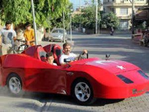 Mersinliden 15 bin liraya spor otomobil