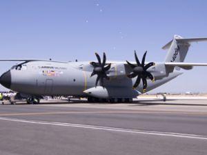 Airbus'un nakliye uçağı Türkiye ziyaretinde