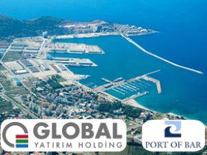 Global, Karadağ Bar Limanı'nı satın aldı