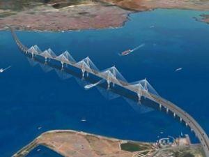 İzmit Körfezine dev asma köprü geliyor