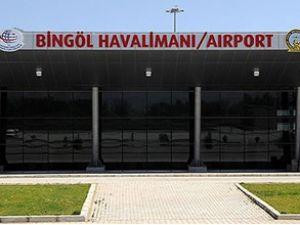 Bingöl Havaalanı bugün törenle açılıyor