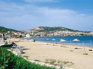 Ramazan Foça'da sahil turizmini etkiledi