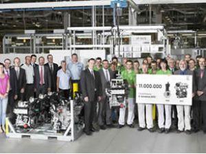 Skoda 11 milyonuncu motorunu üretti