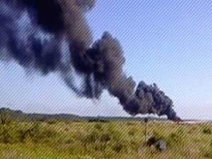 İnsansız hava uçağı yere çakıldı