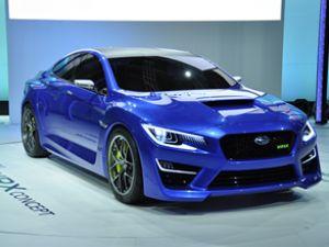 Subaru Frankfurt'ta iki konsept tanıtıyor