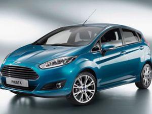Ford, Fiesta'yı yeni yüzüyle piyasaya sundu