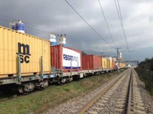 Medlog'dan raylı konteyner taşımacılığı