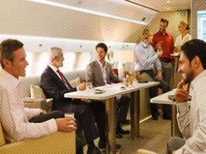 Emirates, özel jette sınırları aştı