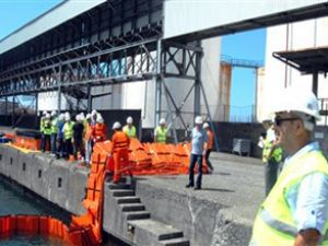 Hopa Limanı her tehlikeye karşı hazır