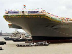 Hindistan kendi uçak gemisini yaptı