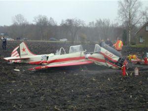 Rusya'da festival alanına uçak düştü