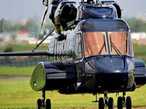 Başbakan Erdoğan'a güvenlikli helikopter