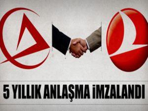 THY ve Atlas Jet anlaşma imzaladı