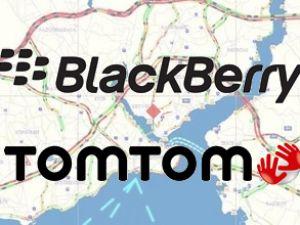 Blackberry ve Tomtom'dan trafik işbirliği