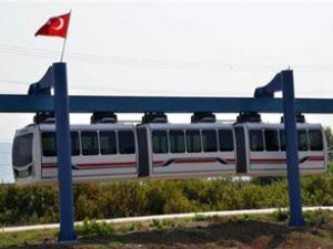 """Trafik çilesine yerli malı """"monorail"""