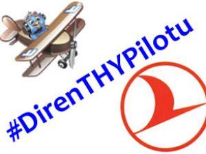 Sosyal Medya da pilotlar için kampanya