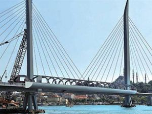 Unkapanı metro köprüsü 29 Ekim'e hazır