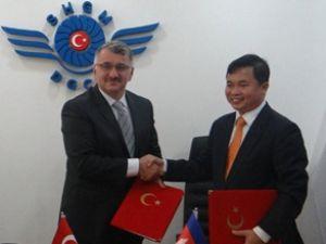 Türkiye-Kamboçya uçak seferi anlaşması